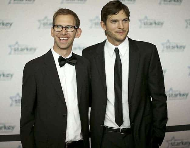 Ashton Kutcher et son frère Michael