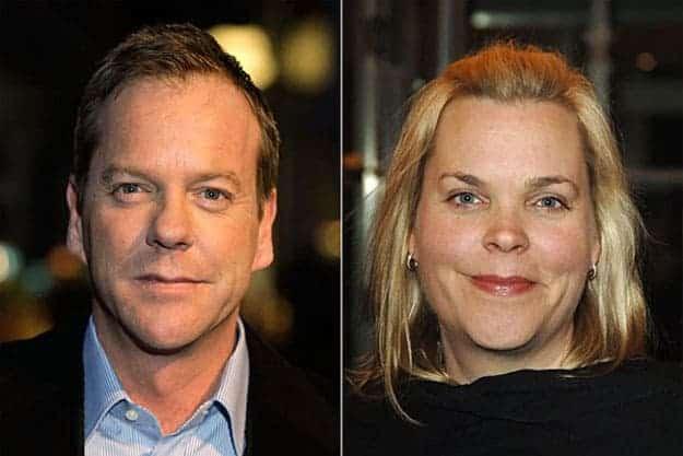 Kiefer Sutherland et sa soeur Rachel