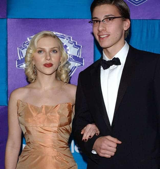 Scarlett Johansson et son frère Hunter
