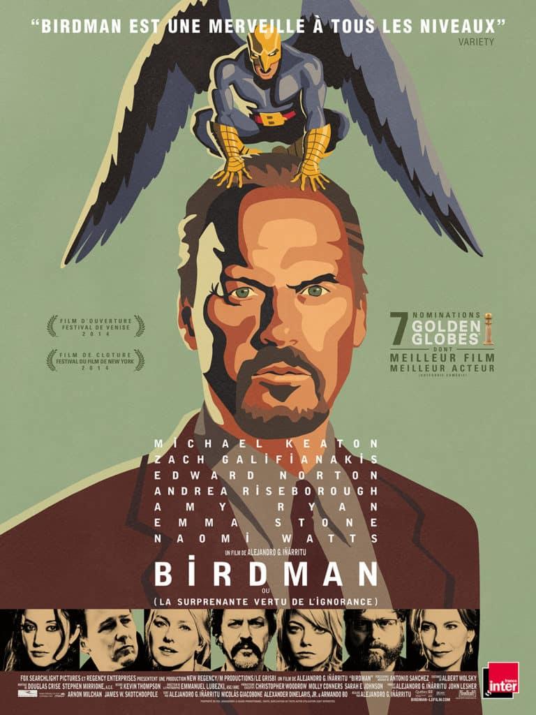 15. Birdman (2015, Alejandro González Iñárritu) - 21 trends
