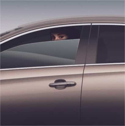 21 Trends - Cadillac : une femme au siège conducteur