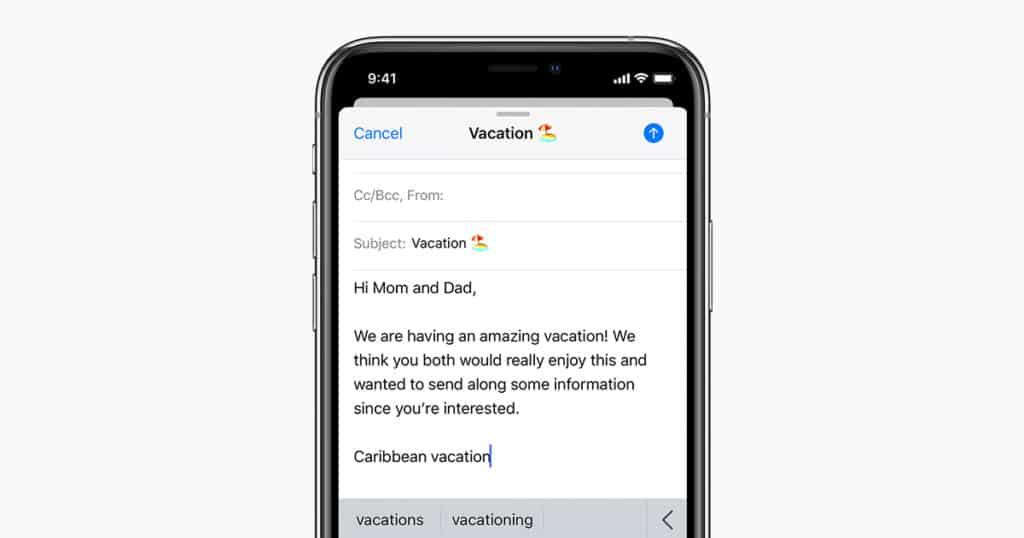 21 Trends - Insérer du texte en forme dans un email