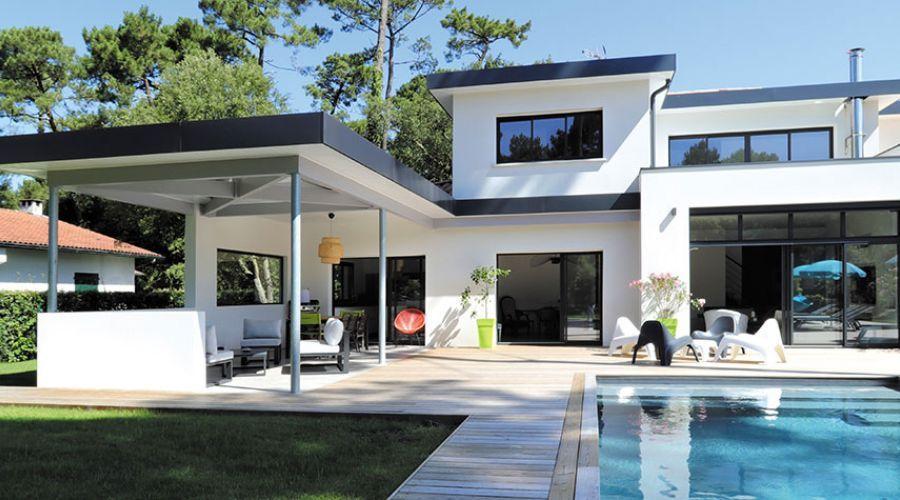 21 Trends - La maison contemporaine faite en bois à Hossegor