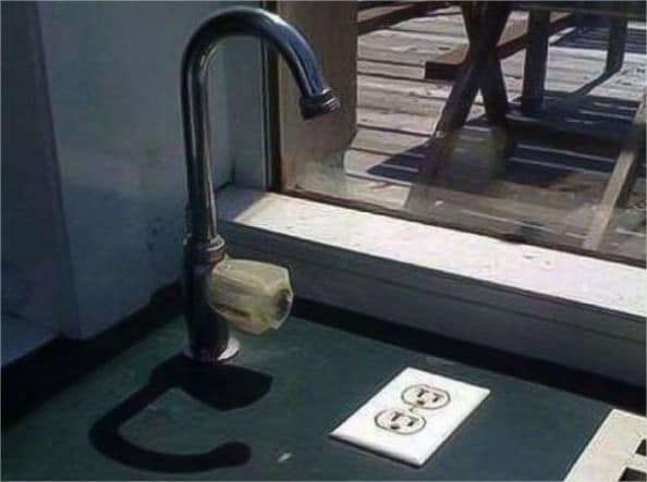 21 Trends - Les prises pour chauffer l'eau du robinet ou pour créer une électrocution ?