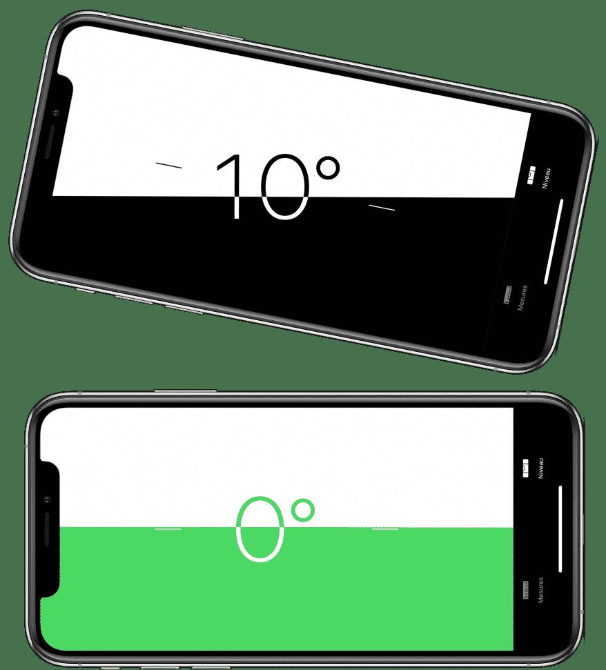 21 Trends - Se servir de l'iPhone comme le niveau