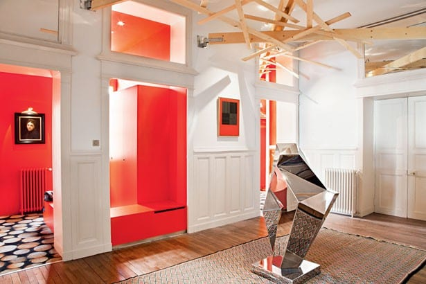 21 Trends - Un appartement structuré par couleur