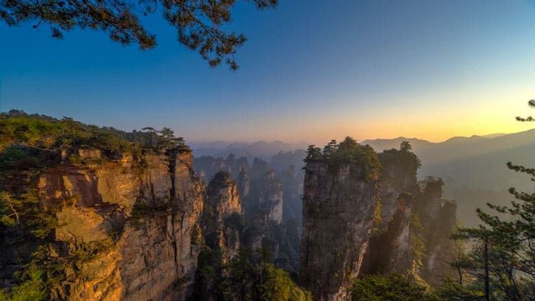 21 Trends - Le parc forestier de Zhangjiiajie : la forêt emblématique chinoise